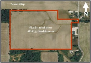 42.82 ACRES OF EXCELLENT TILLABLE LAND @ LAWSON & CO. Auction Gallery | Danville | Indiana | United States
