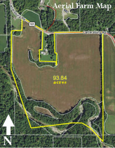 93.84± ACRES - TILLABLE - WOODS - CREEK - BUILDING SITES @ LAWSON & CO. Auction Gallery | Danville | Indiana | United States