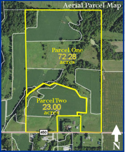 95+ ACRES - TILLABLE - WOODS - PASTURE - CREEK - POND - BUILDING SITES @ LAWSON & CO. Auction Gallery | Danville | Indiana | United States