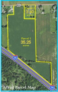 38.65 ACRES - HOUSE - OUTBUILDINGS - TILLABLE LAND @ Brownsburg | Indiana | United States