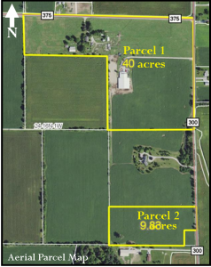 49 ACRES - TILLABLE - FARMHOUSE - HORSE BARN/ARENA - OUTBUILDINGS @ LAWSON & CO. Auction Gallery | Danville | Indiana | United States