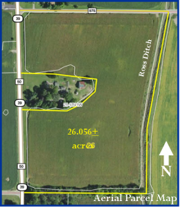 26 ACRES OF EXCELLENT TILLABLE LAND! @ LAWSON & CO. Auction Gallery | Danville | Indiana | United States