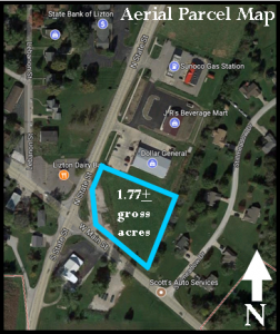 1.77± ACRES - ZONED HIGHWAY BUSINESS - LOTS OF PERMITTED USES @ Lizton | Indiana | United States