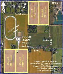 74 ACRES OF PRODUCTIVE TILLABLE LAND @ Best Western Anderson