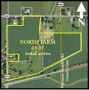 86.82 TOTAL ACRES - TWO FARMS - GREAT TILLABLE LAND @ LAWSON & CO. Auction Gallery