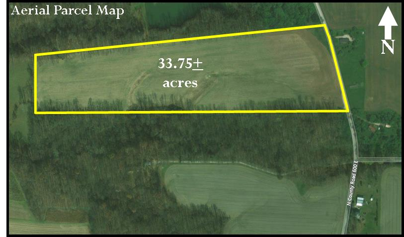 33.75 ACRES – TILLABLE – BUILDING SITES