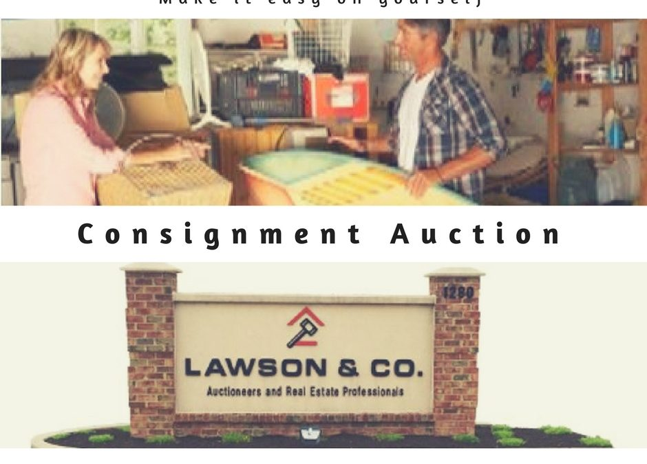 Contact LAWSON & CO. to find out more about selling on consignment at auction. It will make your life easier!