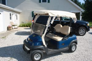 GOLF CART - ANTIQUE FURNITURE - GLASSWARE - TOOLS @ Lawson Auction Gallery | Danville | Indiana | United States