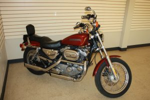2001 HARLEY DAVIDSON SPORTSTER 1200 - INDIAN ARTIFACT - PRIMITIVES - COLLECTIBLES - FURNITURE @ Lawson Auction Gallery | Newark | Ohio | United States