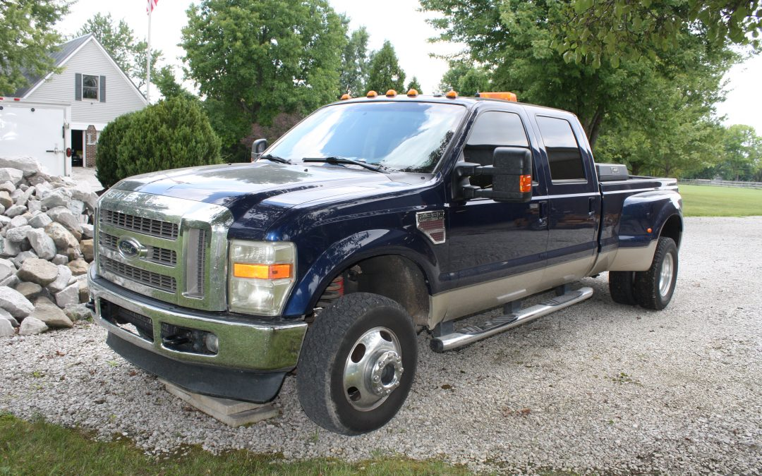 FORD F-350 DUALLY PICK-UP – HARLEY DAVIDSON ULTRA CLASSIC – NEW HOLLAND TRACTOR – BOBCAT EXCAVATOR