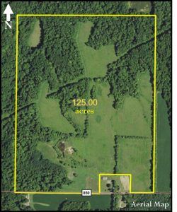 EXCELLENT HUNTING & RECREATIONAL LAND - 125 ACRES @ Bainbridge Community Building | Bainbridge | Indiana | United States