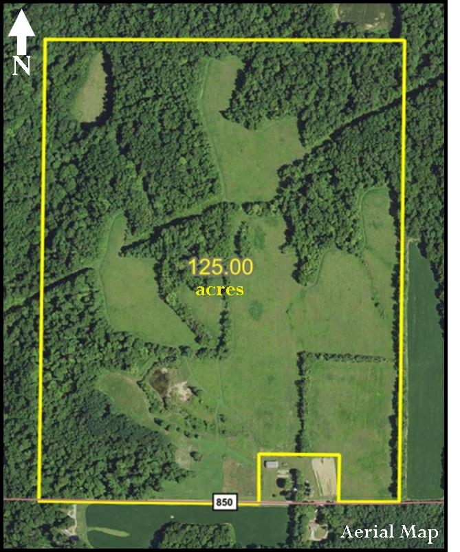 EXCELLENT HUNTING & RECREATIONAL LAND – 125 ACRES