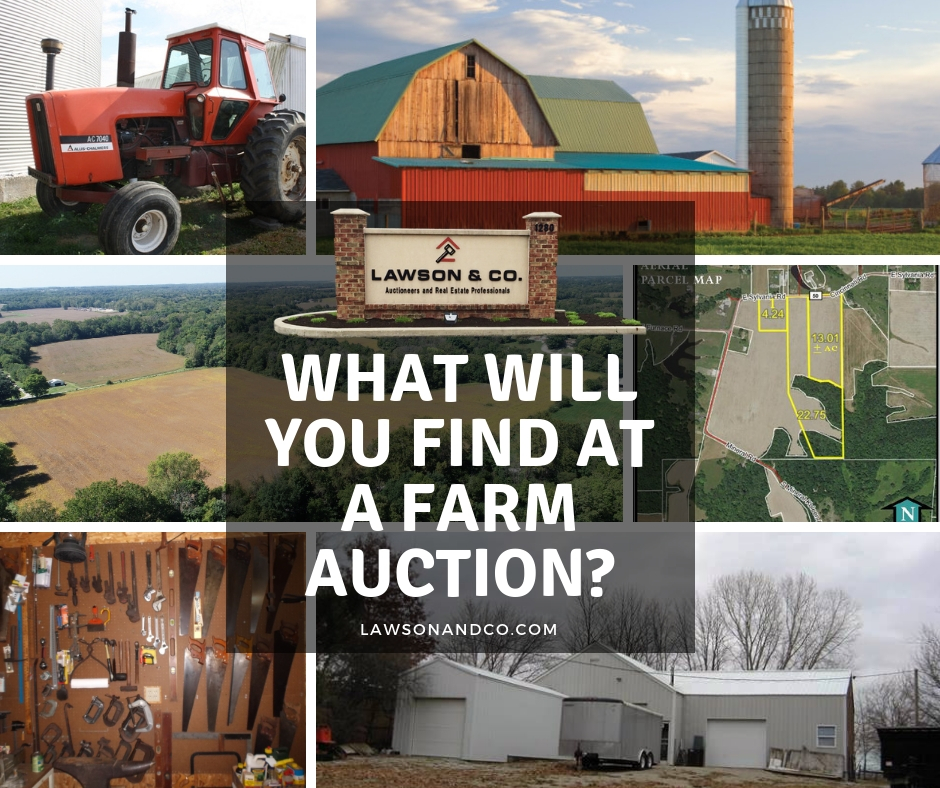 Farm Auctions Offer Something for Everyone