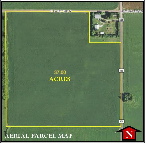 37 ACRES OF TILLABLE LAND!