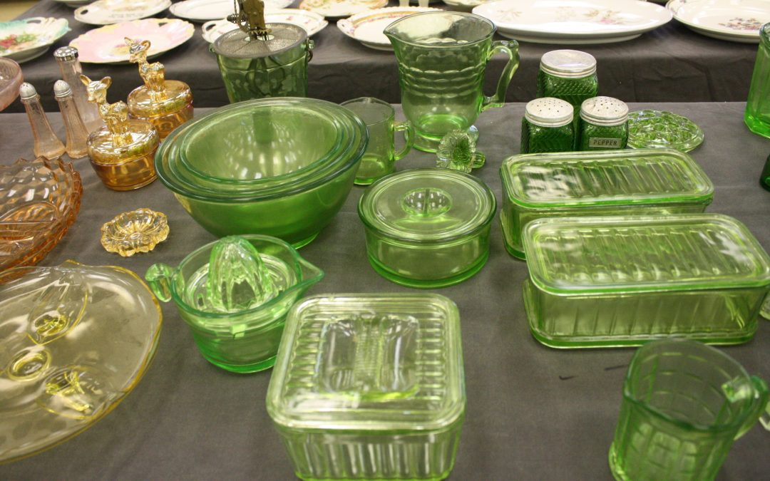 GLASSWARE – PICTURES – FURNITURE – COLLECTIBLES