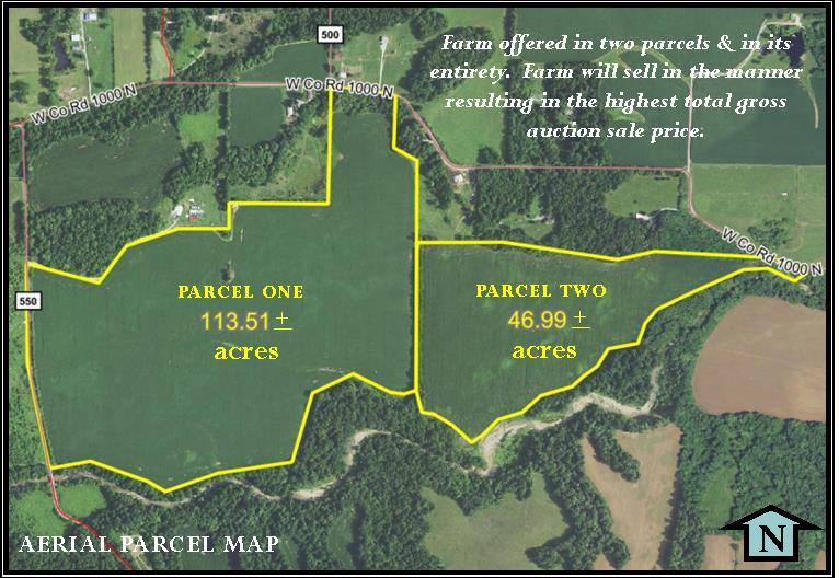 160.5 ACRES – VIRTUALLY ALL TILLABLE LAND!