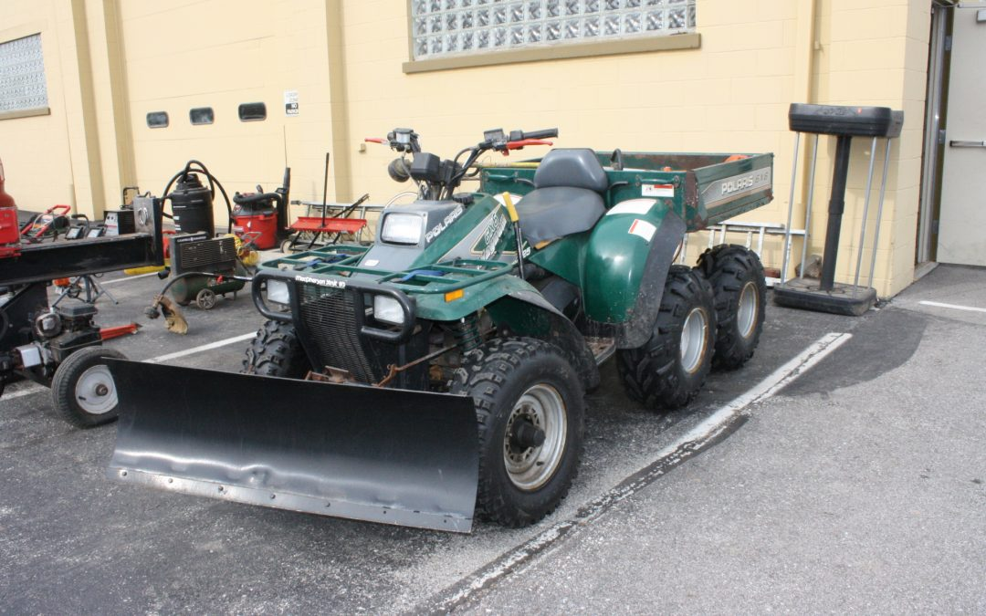 UTILITY TRAILER – POLARIS MAGNUM ATV – PRO-LINE ZTR MOWER – FURNITURE – COLLECTIBLES