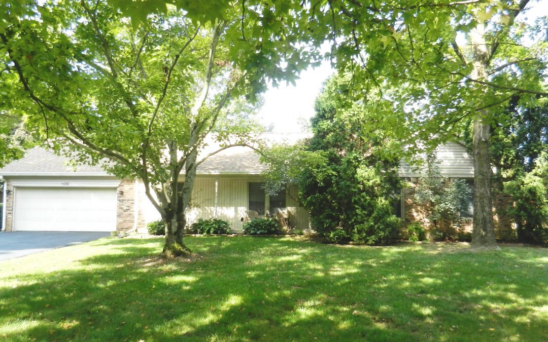 3 BEDROOM RANCH HOME ON 0.59 ACRES WITH POND VIEW!