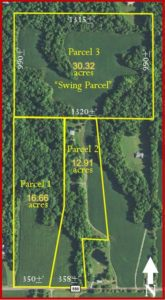 59.89 ACRES - TILLABLE - WOODS - HOUSE - BUILDING SITES @ Putnam County Airport Hotel | Greencastle | Indiana | United States