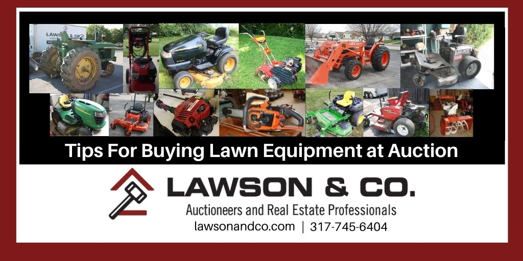 Save the Green on Lawn Equipment