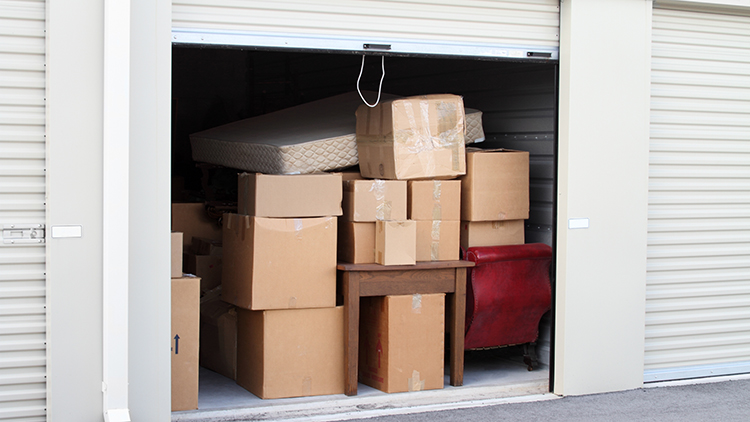 Be prepared for surprises at a storage auction