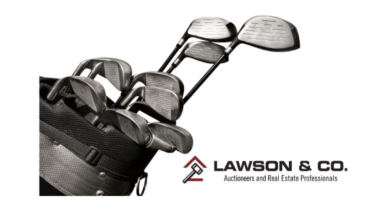 Used golf clubs at auction could be a great deal!