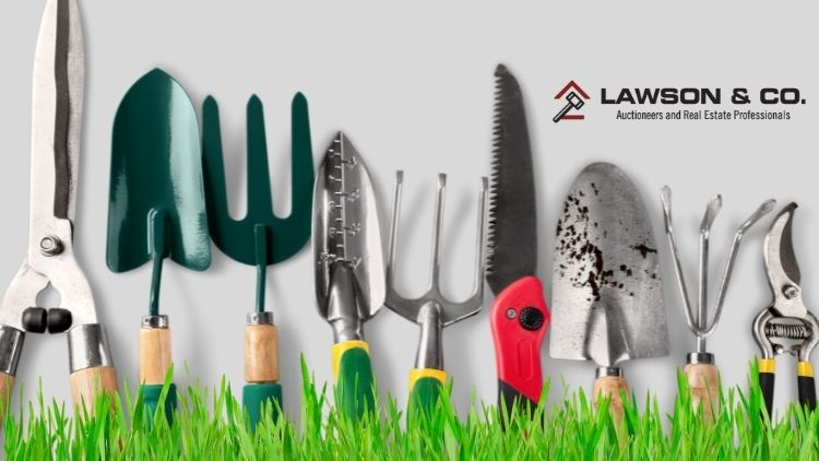 Auctions are a great way to build up your collection of garden tools.