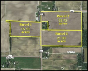 58.82 ACRES - TILLABLE - BUILDING SITES - 3 PARCELS @ Lawson & Co. Auction Gallery | Danville | Indiana | United States